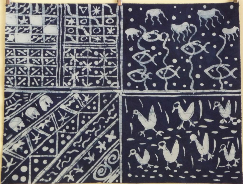 Yoruba Batik - Adire Type Design Sampler